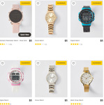 Assorted Watches $5 @ Target