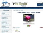 """Schaub Lorenz 3 Full HD LED TVs (32"""", 42"""", 46"""") for $2900 - Free Delivery & Setup Included"""