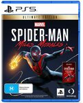[PS5] Marvel's Spider-Man: Miles Morales Ultimate $79; Standard $69 Delivered @ Amazon AU