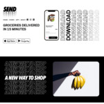 [VIC, NSW, Android, iOS] Send App Referral Program: $10 off Min $10 Spend with Free Delivery to Selected Areas @ Send