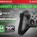 [Pre Order] Xbox 20th Anniversary SE Controller $64 ($51.20 with Level 4 Bonus) with Trade-in of XB1/XSX|S Controller @ EB Games