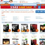 MightyApe.com.au 8 Hours Left 2000+ Games & Accessories up to 80% off!
