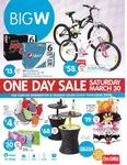 Big W - 1 Day Sale - Sat March 30 - 2 @ $20 iTunes Cards for $30   Kindle Black Wi-Fi $99