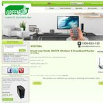 Tenda W307rbn Wireless N Router $9 Plus Free Shipping from GREENBOXiT