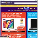 """[Click Frenzy] 55"""" LED TV $599, Urbeats $49.99, Belkin Modem Router $29.99 and More at mwave"""