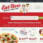 EatNow $5 OFF New and Existing Customers