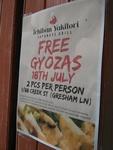 Free Gyozas - Ichiban Yakitori - Brisbane CBD 18 July