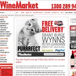 Wine Market Free Delivery on Selected Wines When You Pay with PayPal