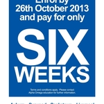 ALPHA OMEGA EDUCATION - TERM 4 OFFER! Enrol by the 26th of October and Pay for Only 6 Weeks