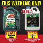 [Castrol Magnatec 10w-40 5L $22.99] [CT18 Superwash 5L $9.99] @ Repco 9th-10th Nov