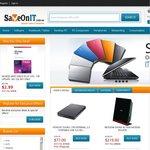 "McAfee AntiVirus $2.99, Hitachi Touro 1TB ext HDD $77 Free Shipping. Philips 27"" $239+Ship"