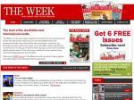 "Free copy of ""The Week"" Magazine"