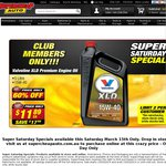 [SCA Club Member Only] Saturday Specials - Valvoline XLD Premium Oil 15W-40 $11.89 - 60% OFF