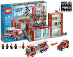 Lego City Fire Station 60004 $88.57 Delivered at COTD