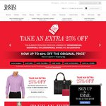 Now Take an Extra 25% off across Womens, Mens, Kids, Shoes, and Accessories at David Jones