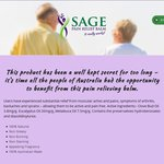 Free Sage Pain Relief Balm Sample