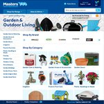 Garden - Pest & Weed Control + Fertilisers 60 - 80% off at Masters