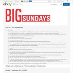 eBay.com.au - 15% off Everything Site Wide - 10am Sun 14 Sept