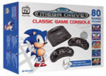 SEGA Classic Mega Drive $129 @ Myer Includes 80 Games and 2 Wireless Controllers + Free Delivery