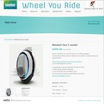 Ninebot Onebot E (Retail Priced at $1,150) Launch Offer at $999 + Free Shipping & Gift @ Wheel You Ride