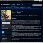 FREE Classic Game: Street Skater for PS3 & PSP @ PSN