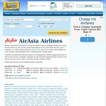 Melb - Denpasar/Bali $352, Incheon $1316, Seoul $1,316 (July/August) from Air Asia via IWTF