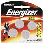 Energizer CR2032 Lithium Coin Battery 4pk - $4.76 (Was $14.98) C&C @ Dick Smith