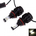 US $29.27 Delivered: LED Headlight 9007 30W 3000LM 3-CREE Natural White (DC12-24V) 2PCS @MyLED