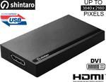 Shintaro USB 3.0 to 4K Video Adapter [$107.95 + $6.95 Shipping] $22 off + More @ Zazz