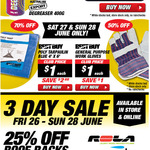 Supercheap Auto 3 Day Sale Degreaser $1 Save $1.39, 50% off Selected Winches, 25% off Roof Racks