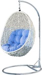 Hand-Woven White Egg Chair $299 Delivery Included within NSW Area @ Importer Deals