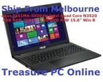 "Refurbished Asus F551MA-SX064H Laptop 15.6"" Intel® Quad Core N3520 $369 Shipped@ Treasure PC"