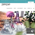 50% off All ZiPPiZAP Balance Bikes - from $59.95 + Free Postage
