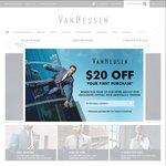 Free Shipping on Orders over $100 @ Van Heusen