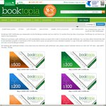Booktopia - 10% off Gift Certificates