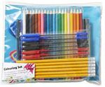77 Piece Colouring Pack $1 @ Officeworks