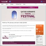 Qatar Airways Flights to Europe (Companion Sale) - Perth to Edinburgh RT $1295 + More