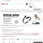 [New Registrants] Free Lightning or Micro USB Charging Bracelet $0 Shipped at Zapals