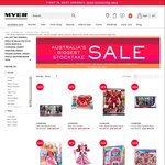 30% off Selectd Star Wars, Avengers, Disney Princess, Disney Frozen, Barbie & More Toys @ Myer