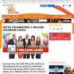 Win $500 Cash from Sunrise/Channel 7