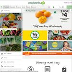 Woolworths Online - $15 off $200 Spend