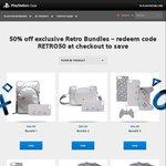 PlayStation Gear: 50% off Exclusive Retro Bundles