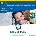 Bonus 6GB Data - Now 11GB for $48/Month @ TeleChoice [Minimum $576 over 12 Months]