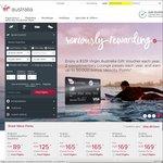10% off Virgin Australia Flights