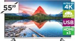 "Kogan 55"" Agora 4K Smart LED TV (Ultra HD) $749"
