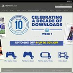 US PlayStation Store 10th Anniversary Sale - up to 70% off. Bloodborne Complete Edition $24.99 USD ($32 AUD)