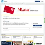 AmEx Statement Credits: Westfield Gift Card, Myer, Woolworths, Nespresso, Rebel, Dymocks, Witchery, Body Shop, BCF, and More