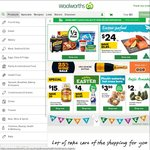 Woolworths Online Shop - $20 off Plus Free Shipping (Min $150) - New Customers Only