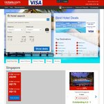8% off ALL hotels at HOTELS.com When Buying with a Visa