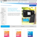 Telstra Pre-Paid 4GX Wi-Fi Plus With Battery $69 (was $99) @ Telstra Online